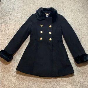 Jessica Simpson military style pea coat.